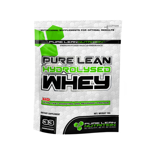 Pure Lean Hydrolysed Whey Protein 5kg